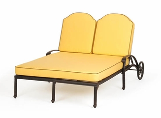 Double Chaise and Cushions - Florence - Caluco - C777-99-SET