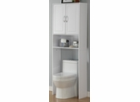 Double Door Spacesaver in White - 4D Concepts - 76421