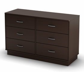 Double Dresser in Chocolate - Logik - South Shore Furniture - 3359027