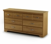 Double Dresser in Golden Oak - Versa - South Shore Furniture - 3181010