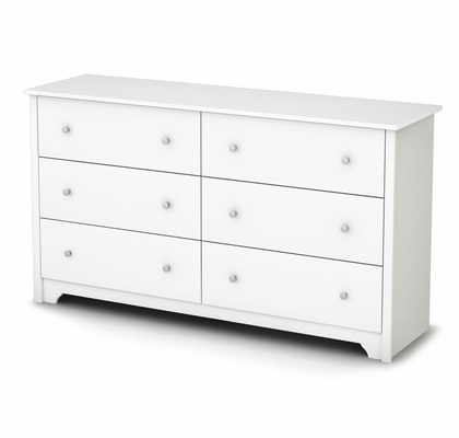 Double Dresser in Pure White - Vito - South Shore Furniture - 3150010