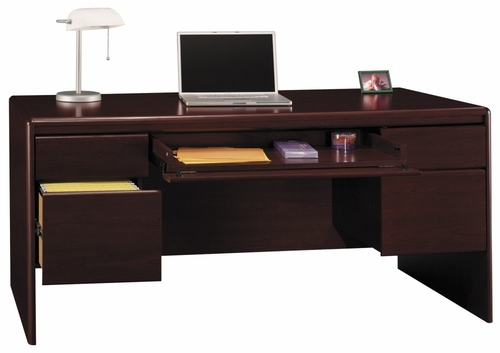 Double Ped Desk - Northfield Collection - Bush Office Furniture - EX17718