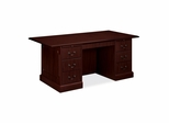 Double Pedestal Conference Desk - Mahogany - HON94271NN