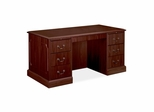Double Pedestal Executive Desk - Mahogany - HON94251NN