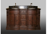 Double Sink Chest in Dark Cherry - P5441-03A-C
