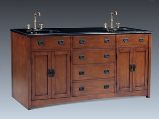 Double Sink Chest in Medium Brown - P5433-03A-3