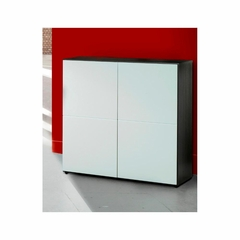 Double Storage Module - 2 Doors, 2 Shelves - Nexera Furniture