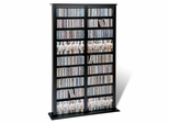 Double Width Barrister Tower in Black - Prepac Furniture - BMB-0800