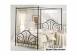 Dover Eastern King Size Canopy Bed