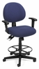 Drafting Chair - 24 Hour Computer Task Chair with Arms and Drafting Kit - OFM - 241-AA-DK