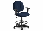 Drafting Chair - Superchair with Arms and Drafting Kit - OFM - 105-AA-DK