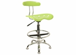 Drafting Stool / Bar Stool in Apple Green - LF-215-APPLEGREEN-GG