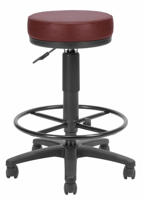 Drafting Stool - Vinyl Utilistool with Drafting Kit - OFM - 902-VAM-DK