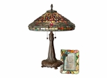 Dragonfly Table Lamp & 4X6 Picture Frame Set - Dale Tiffany