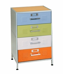 Dresser 4-Drawer - Locker Furniture Collection - 38-6701-997