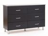 Dresser - Double Dresser in Black Onyx/Charcoal - South Shore Furniture - 3127027