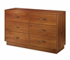 Dresser - Double Dresser in Sunny Pine - South Shore Furniture - 3342027