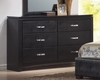 Dresser - Dylan Dresser in Black - Coaster - 201403
