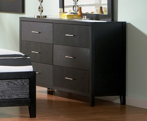 Dresser - Grove Dresser in Black - Coaster - 201653
