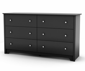 Dresser in Solid Black - South Shore Furniture - 3170010