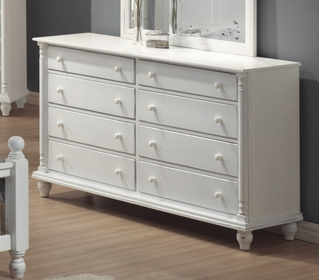 Dresser - Kayla Dresser in White - Coaster - 201183