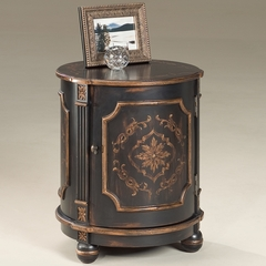 Drum Table in Europian Black - Butler Furniture - BT-0584177