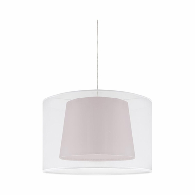 Duo Drum Ceiling Lamp Brown - Lumisource