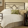 Dutton Full/Queen Size Headboard with Frame in Brown Crystal - Hillsdale Furniture - 1598HFQR