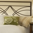 Dutton King Size Headboard with Frame in Brown Crystal - Hillsdale Furniture - 1598HKR