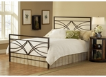 Dutton Queen Size Bed in Brown Crystal - Hillsdale Furniture - 1598BQR