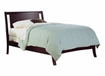 Eastern King Size Low Profile Bed - Nevis Espresso - Modus Furniture - NV23L7