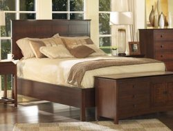 Eastern King Size Panel Bed - 929-KBED-2