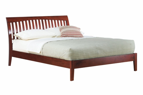 Eastern King Size Platform Bed - Newport - Modus Furniture - NP18F7