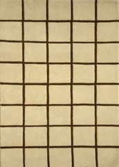 Eastern Weavers Adeline Beige Brown Rectangular Rug