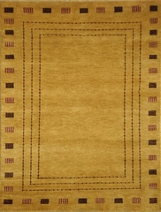 Eastern Weavers Adeline Gold Hand Tufted Modern Rug