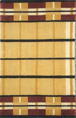 Eastern Weavers Adeline Hand Tufted Rug in Beige Black