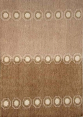 Eastern Weavers Adeline Hand Tufted Rug in Beige Brown