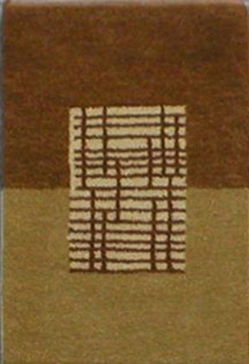 Eastern Weavers Adeline Hand Tufted Rug in Brown