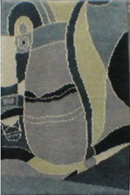 Eastern Weavers Adeline Hand Tufted Rug in Grey