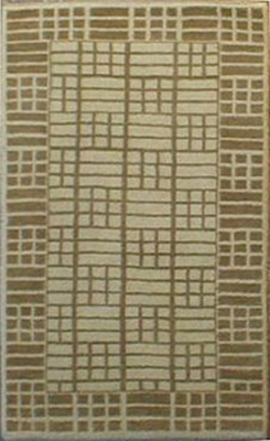 Eastern Weavers Adeline Hand Tufted Rug in Ivory Beige