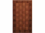 Eastern Weavers Adeline Hand Tufted Rug in Rust