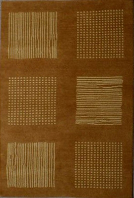 Eastern Weavers Adeline Modern Rug in Rust