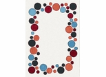 Eastern Weavers Adeline Polka Dot Wool Rug