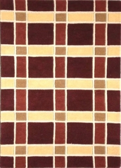 Eastern Weavers Adeline Rust Gold Modern Rug