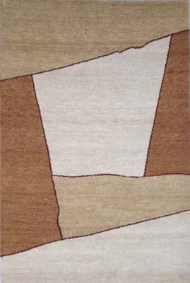 Eastern Weavers Arzu Beige Wool Rug