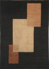 Eastern Weavers Arzu Contemporary Black Beige Rug