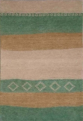 Eastern Weavers Arzu Green Contemporary Rug
