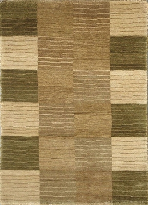 Eastern Weavers Arzu Green Hand Tufted Wool Rug