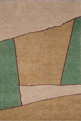 Eastern Weavers Arzu Green Wool Rug