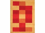 Eastern Weavers Arzu Peach Red Hand Tufted Wool Rug